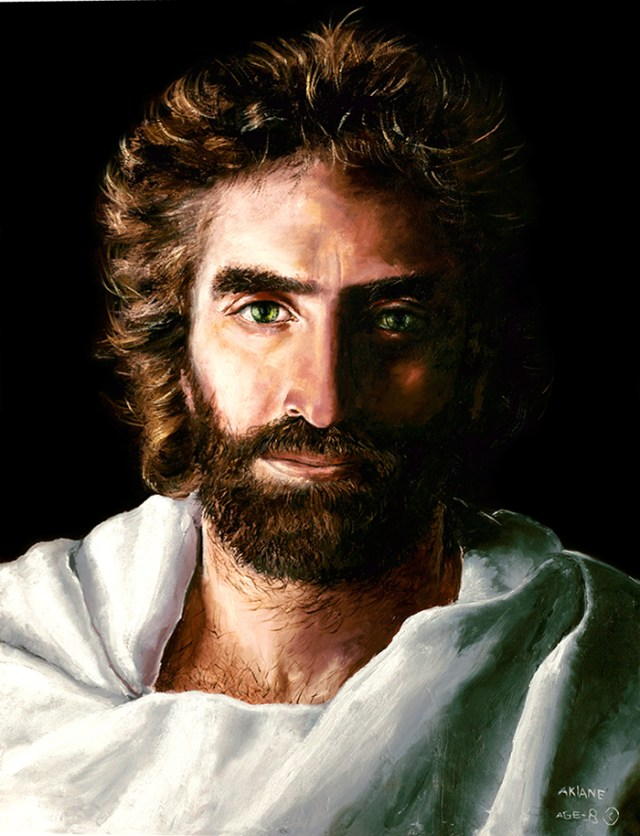 His Loving Gaze | BlessThisEmptyNest.com - Of all the Jesus images I have seen, the Prince of Peace is far and away my favorite.