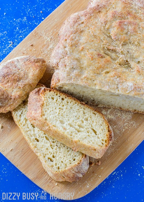 Easy Crock Pot Garlic Parmesan Bread | BlessThisEmptyNest.com - Crusty, flavorful, fresh, and best of all, EASY!