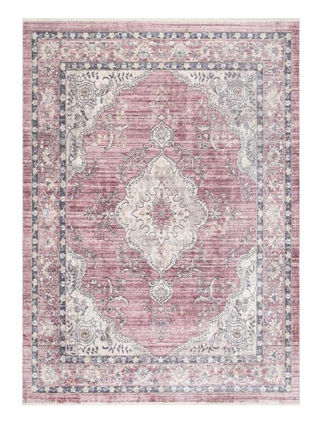 vintage pink area rug