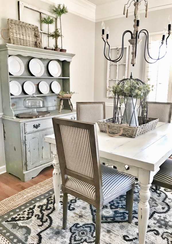 Farmhouse Style Dining Room Refresh