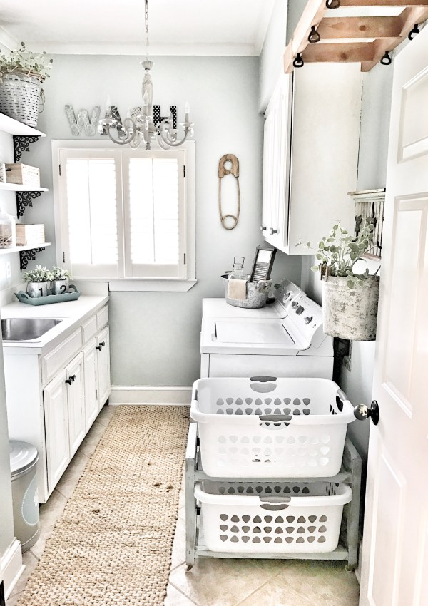 Laundry Room Makeover: 5 Easy Steps