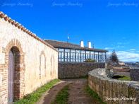 Galería vista desde la muralla en Ledesma