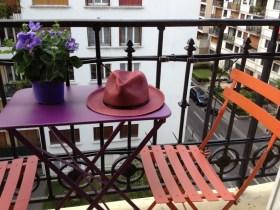 table et chaise bistro de chez Fermob