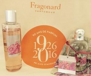 Mon parfum et gel douche Belle Chérie de Fragonard