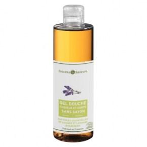 gel douche cheveux et corps sans savon aux huiles essentielles