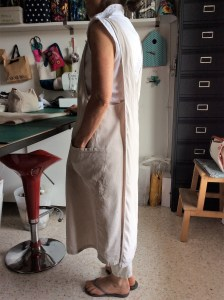 My Li Hemp Apron by Couleur Chanvre