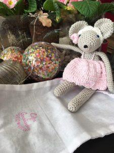 Ma petite Rosie la souris de Coton & Gourmandises