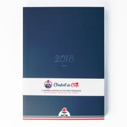 L'agenda 2018 de la culture Française, entièrement fabriqué en France