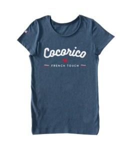 Cocorico et la marque Draguons vous proposent un T-shirt Femme Made In France cintré et confortable qui célèbre le charme Français
