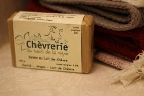 Mon savon au lait de chèvre de la Chèvrerie du haut de la vigne