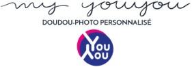 """Logo de la marque """"My Youyou"""" (doudou-photo personnalisé)"""