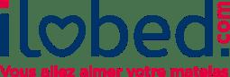 """Logo de la marque """"Ilobed"""" (vous allez aimer votre matelas)"""