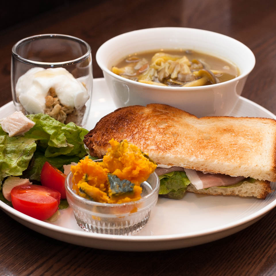 soup and bread 1.30