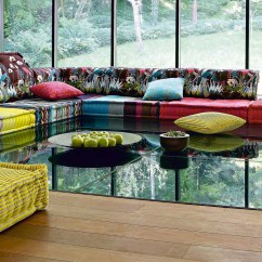 The Mah Jong Sofa From Ligne Roset Velvet Ireland  How Trendy Bleue Pièce