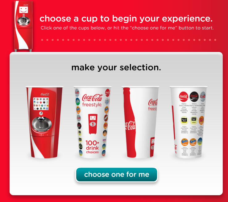 Campaigns I Like: Coca Cola Freestyle (3/5)