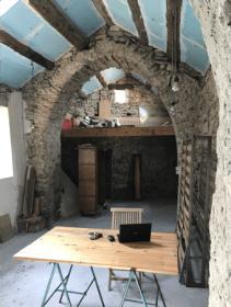 Maison d'auriac, cuisine avant