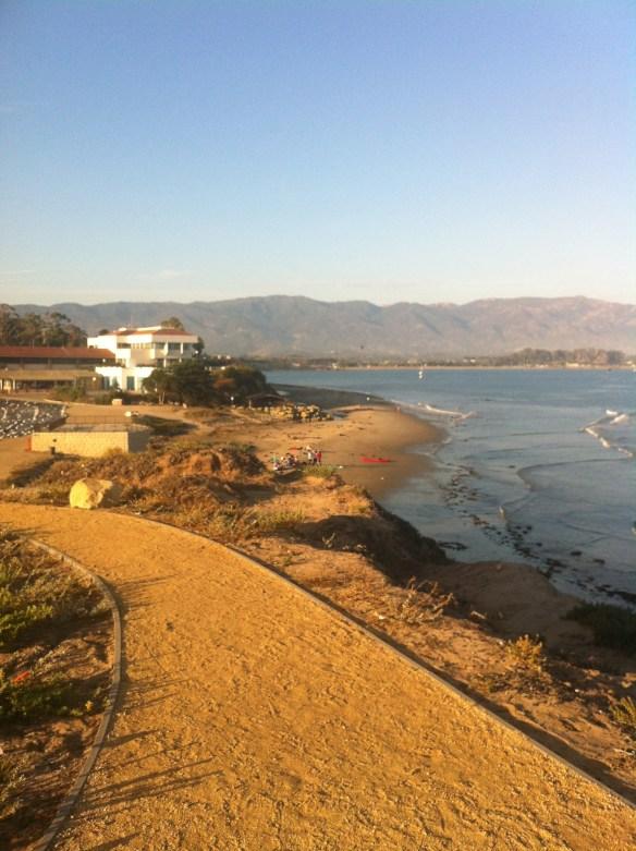View from University of California Santa Barbara