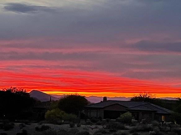 gorgeous Arizona sunset