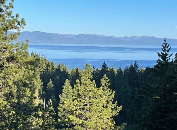 Lake Tahoe view from Zephyr Cove hike.