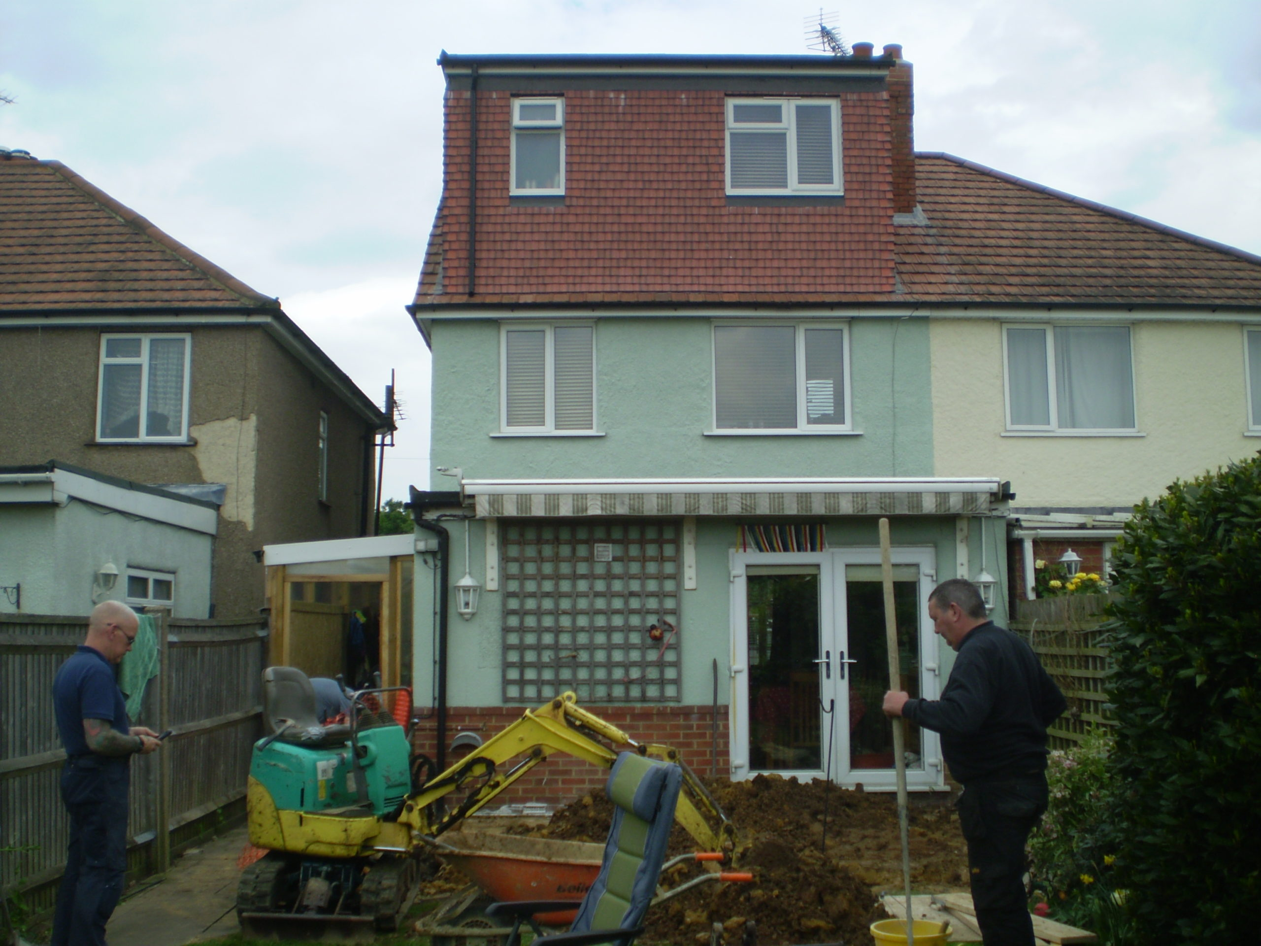 Domestic extensions, building change of use, renovations and refurbishments