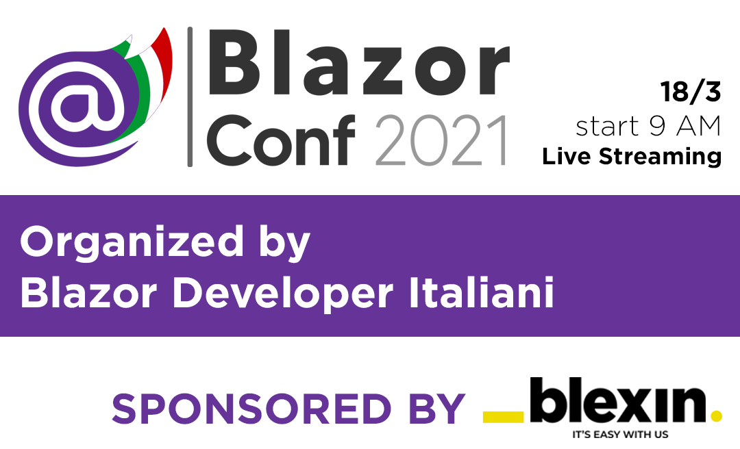 Blazor Conf 2021 Sponsor