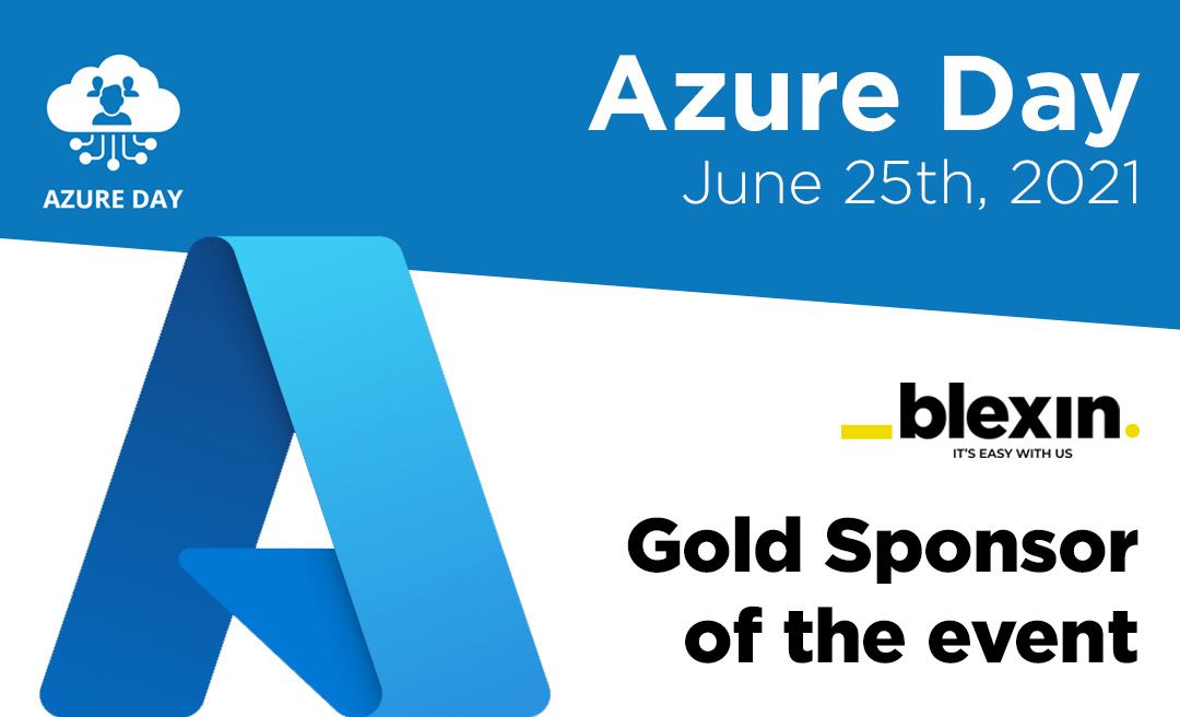 We are sponsor of Azure Day 2021