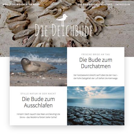Website Deichbude