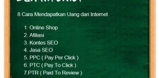 Cara Hasilkan Dollar Dengan Usaha Online Pemasaran Afiliasi