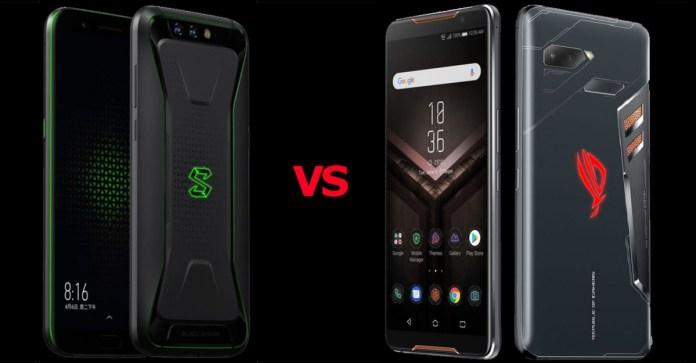 Xiaomi Shark vs Asus ROG