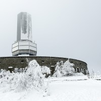 Die eisigen Türme des Großen Feldbergs   The icy towers of Feldberg