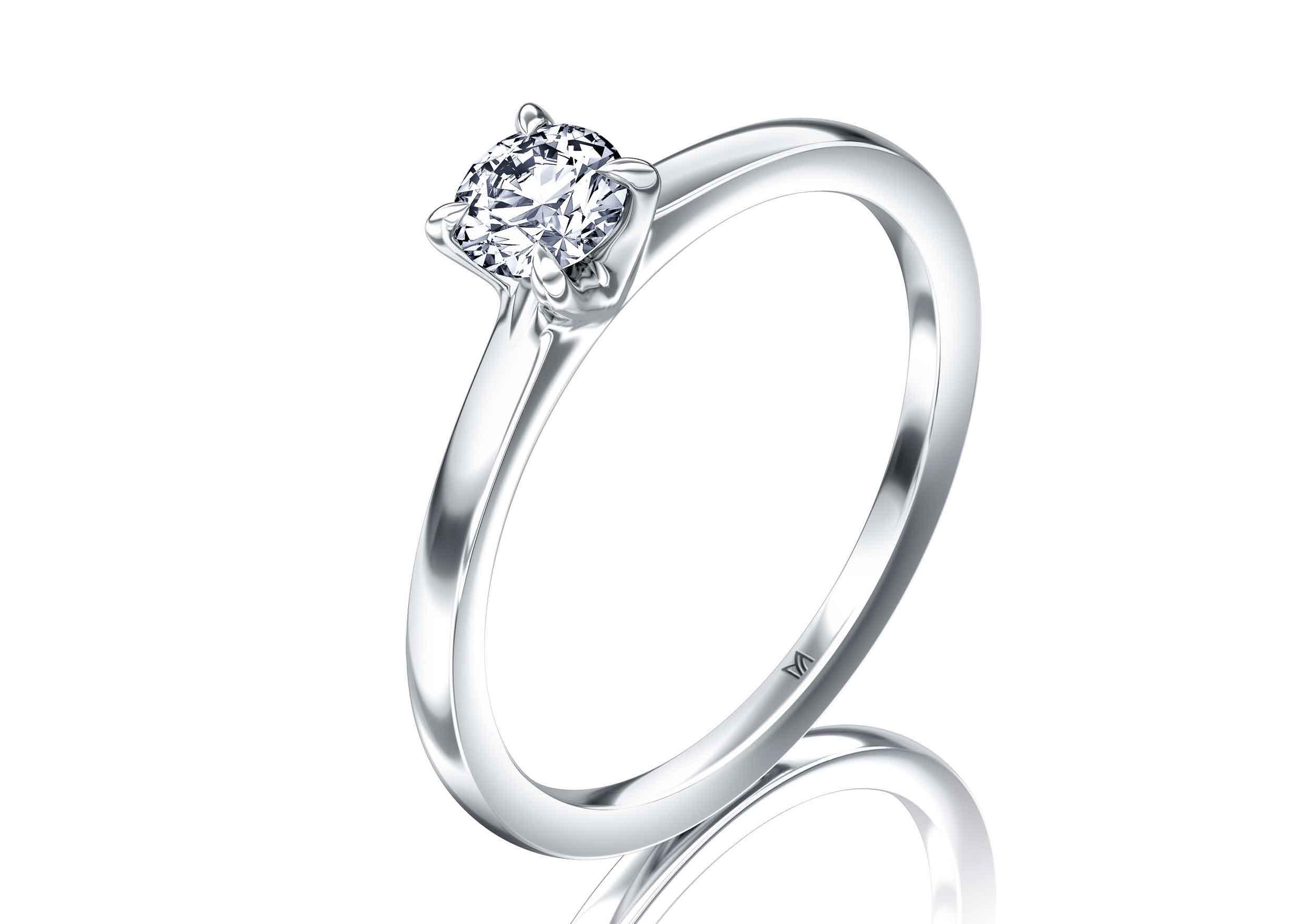 Der Verlobungsring aus Platin 950 ist der Ring des Jahres 2021 (Bild: Meister)