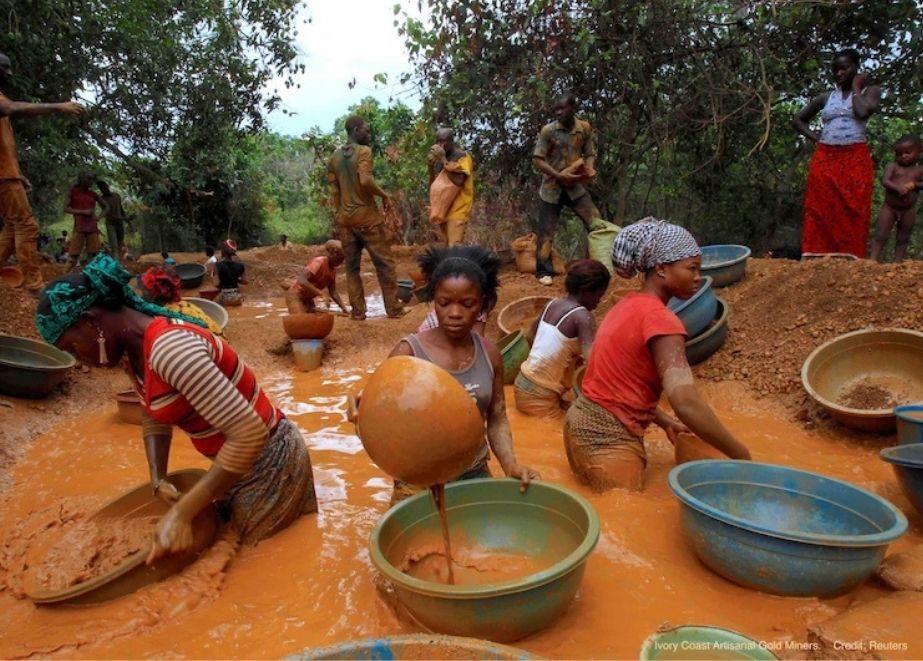 Die weltweit mehr als 15 Millionen handwerklichen und kleinen Goldschürfern (ASGM) setzen derzeit mehr als 5440 kg giftiges Quecksilber pro Tag frei.
