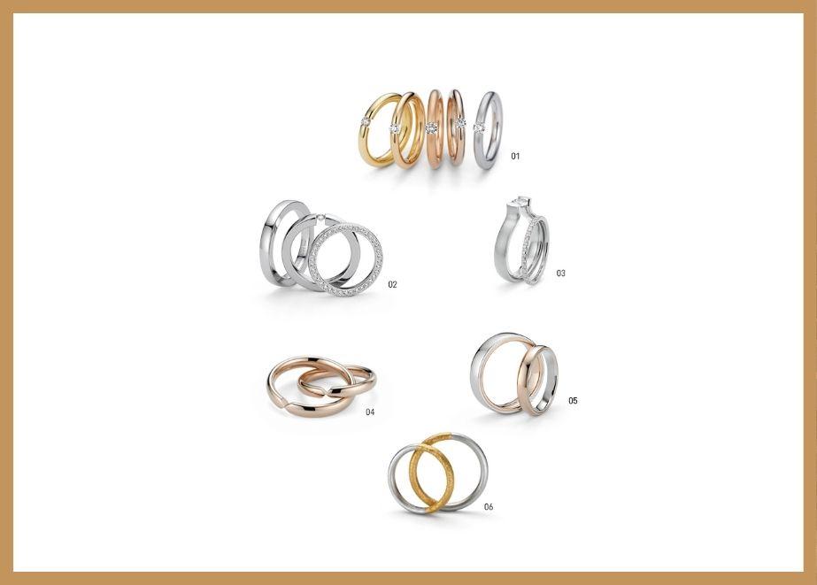 Antares, Ballance, Lucia, Unita, Tango und Symbolon – die neuen Ring-Kollektionen von Niessing.