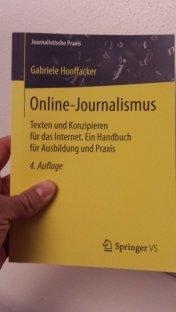 Buch zum Thema Online-Journalismus