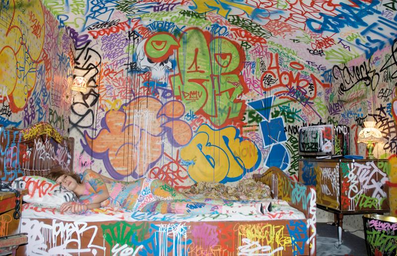 Graffiti Graff TILT Spraypaint Atelier Graffitilt BLIGIDYBLOG