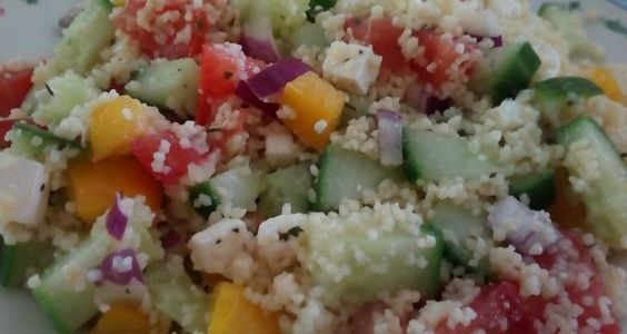 Salad4lunch Griekse salade met couscous