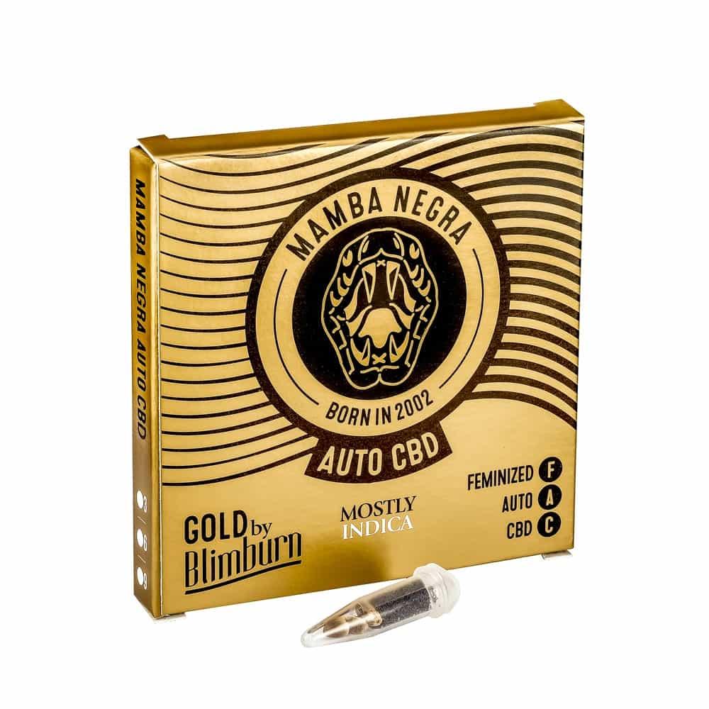 MAMBA NEGRA CBD AUTO cannabis seeds pack