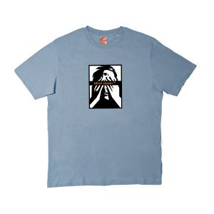 Blind Vision Logo Shirt Blue