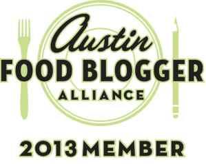 Austin Food Blogger Alliance Member 2013