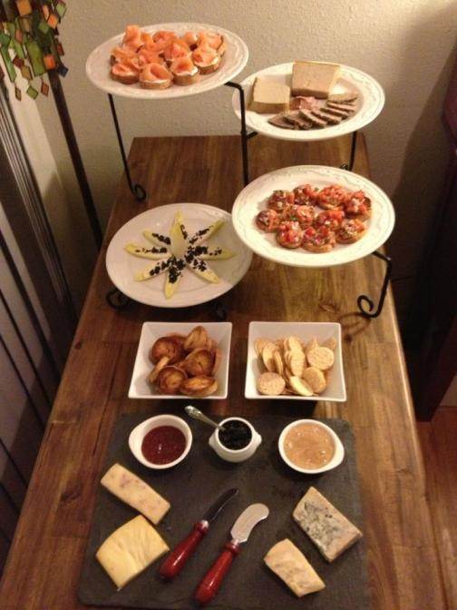 Gluten-Free hors d'oeuvres