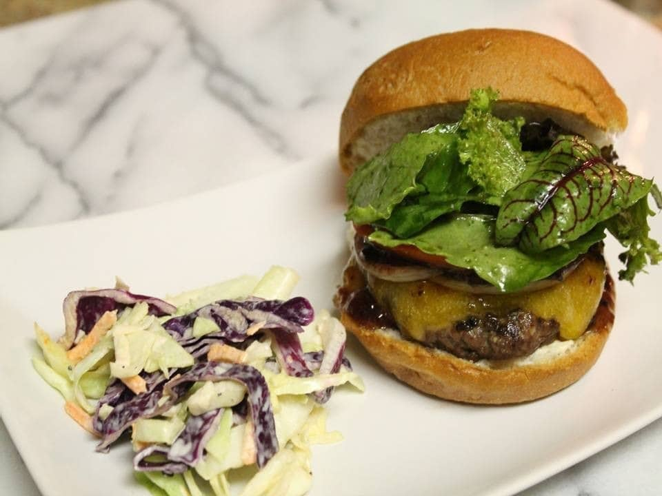 Gluten-Free Cheeseburger, Burgers, Burger