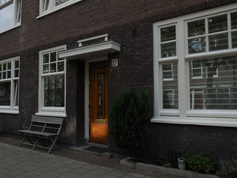 zon op deur Jan Haringstraat