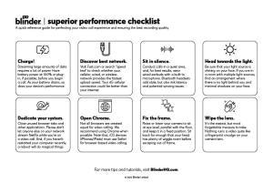 video-checklist