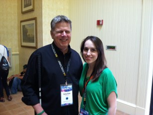 March 23, 2014 - Tommy Edison and Jackie Koppel (NewsyNews) at Playlist Live in Florida