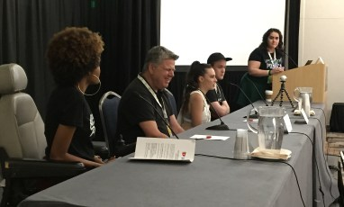 June 25, 2016 - Tommy Edison on the Disability on YouTube panel at VidCon 2016