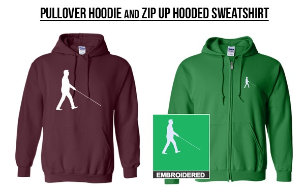 Pullover Hoodie & Zip Up Hodded Sweatshirt