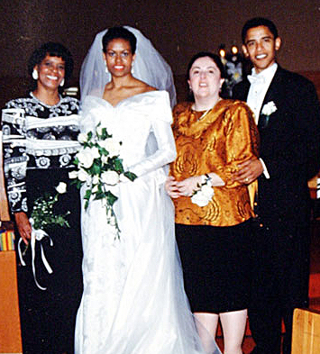 Image result for Obama wedding day