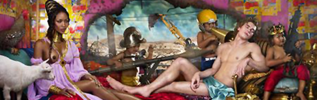 Ga Ga: David LaChapelle's 'Rape of Africa' Photographic Series