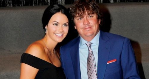 Amanda Boyd with husband pro-golfer Jason Dufner
