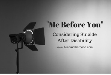 Me Before You: Considering Suicide After Disability